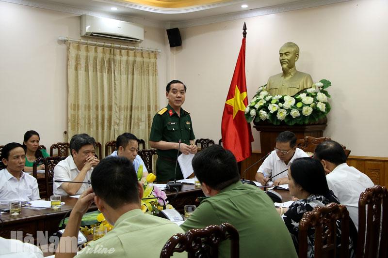 Họp Ban chỉ đạo phòng chống Covid19 Hà Nam có một trường hợp từ Đà Nẵng về có biểu hiện nghi ngờ nhiễm SARS – COVID2