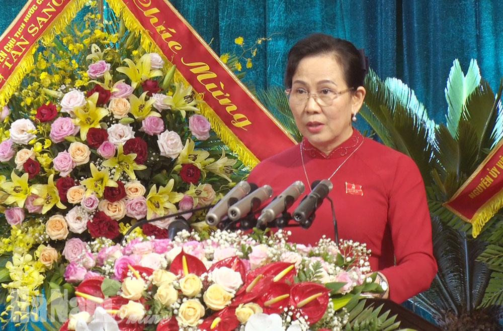 Diễn văn Khai mạc Đại hội đại biểu Đảng bộ tỉnh Hà Nam lần thứ XX nhiệm kỳ 20202025