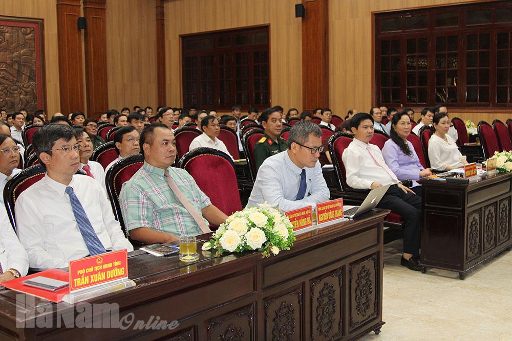 Hội nghị thông tin về tình hình quốc tế khu vực tình hình biển Đông