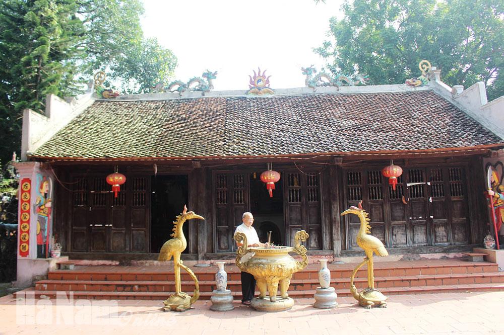 Đền Mẫu Phường Quang Trung  Di tích lịch sử văn hóa tiêu biểu