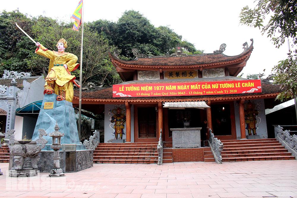 Đền thờ Nữ tướng Lê Chân