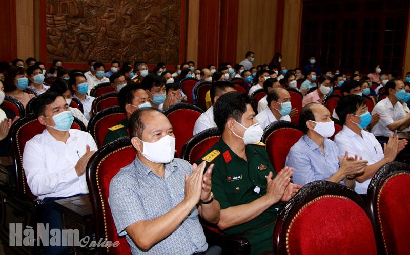 Hà Nam phát động ủng hộ Quỹ Vaccine phòng Covid19 tỉnh