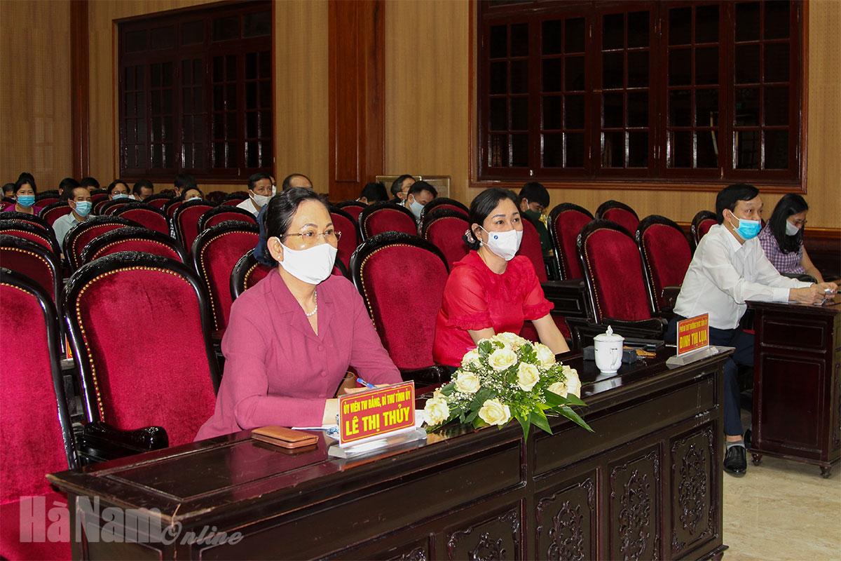"""Hội nghị nghiên cứu học tập chuyên đề toàn khóa về """"Học tập và làm theo tư tưởng đạo đức phong cách Hồ Chí Minh"""" nhiệm kỳ Đại hội XIII của Đảng Chuyên đề năm 2021"""