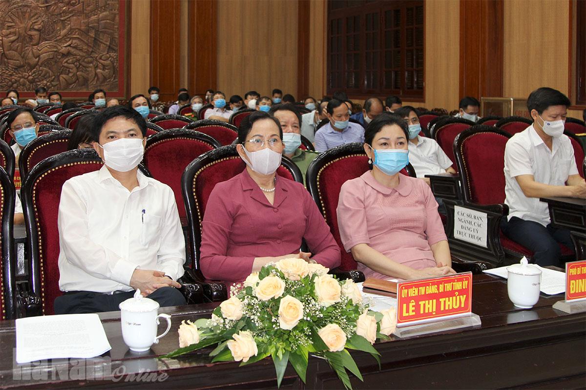 Hội nghị trực tuyến toàn quốc sơ kết 5 năm thực hiện Chỉ thị 05 của Bộ Chính trị