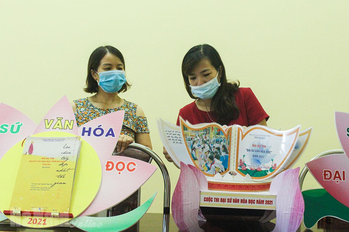 Gần 75500 bài tham dự cuộc thi Đại sứ văn hóa đọc tỉnh Hà Nam năm 2021